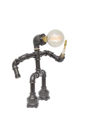 С лампой Эдисона