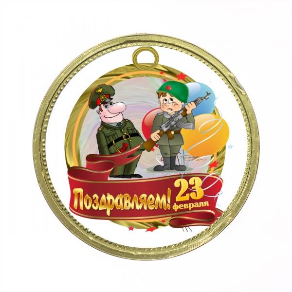 Медаль 25 гр.
