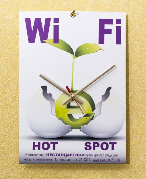 Табличка Wi-Fi