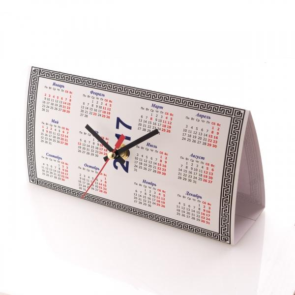 Домик - часы календарь