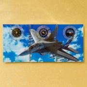 3D часы Самолет МИГ-35
